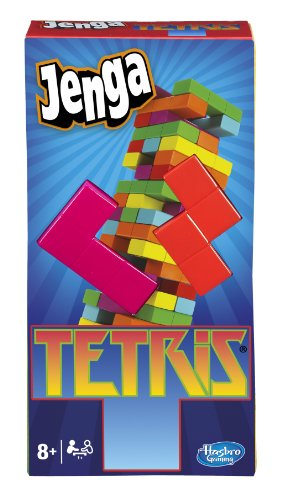 Hasbro Gaming Jenga Tetris Game