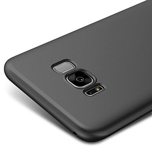 Vooway Nero Ultra Sottile Custodia Cover Case per Samsung Galaxy S8 5,8 Pollici MS70326