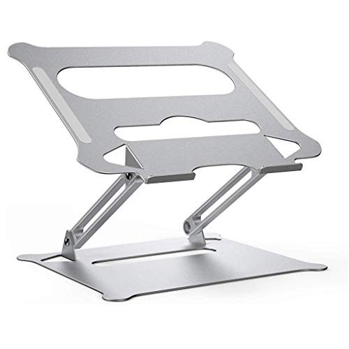 Yousiju Aleación De Aluminio Ajustable Soporte Portátil Portátil Portátil para Computadora Portátil Soporte De Computadora Soporte De Enfriamiento De Elevación Antideslizante