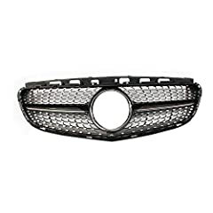 Attention! Please Check the Description and Fitment before Your Purchasing. PART TYPE: 1xFront Bumper Grill Grille Diamond Style Black PART TYPE: 1xFront Bumper Grill Grille Diamond Style Black WORK FOR BRAND: Mercedes-Benz E63 AMG 2014-2016, E63 AMG...