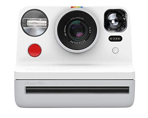 Câmera POLAROID_ Now Autofocus i-Type 9027 com impressão Instantânea, Branca
