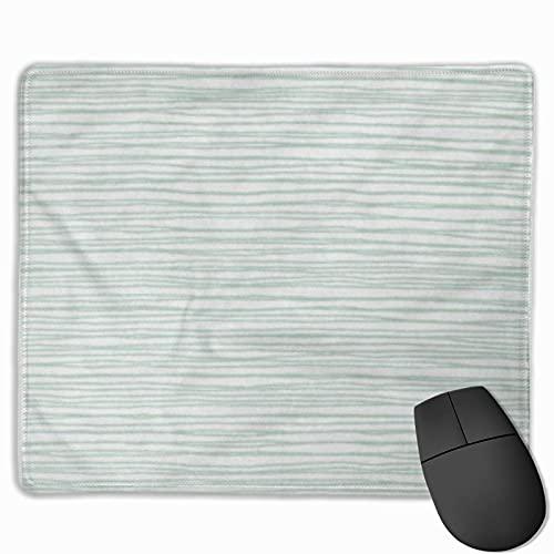 Gaming-Mauspad, Premium-strukturierte Mauspad-Pads, niedliches Mousepad für Spieler, Büro und Zuhause Blaue Musterlinien Gezeichnete Handzeichnung Abstrakter Bleistift-Skizzenstreifen