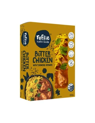 Ruffie Butter Chicken with Turmeric Basmati 350g x 8