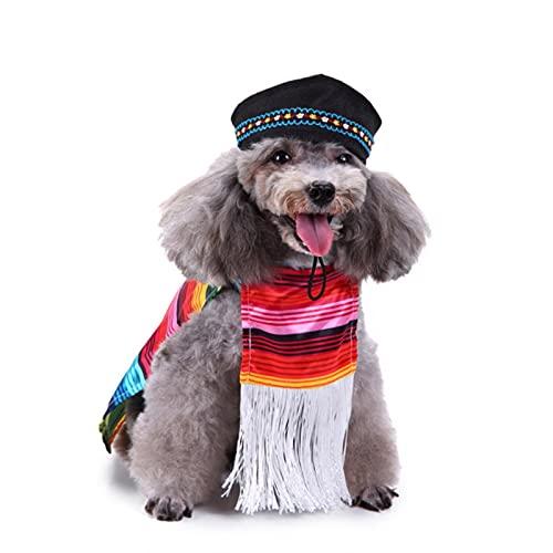 Ropa de Perro Ropa De Halloween para Perros Ropa De Perro De Invierno Sushi Cosplay Traje Cat Traje Abrigo Pet French Bulldog Jacket Traje De Navidad