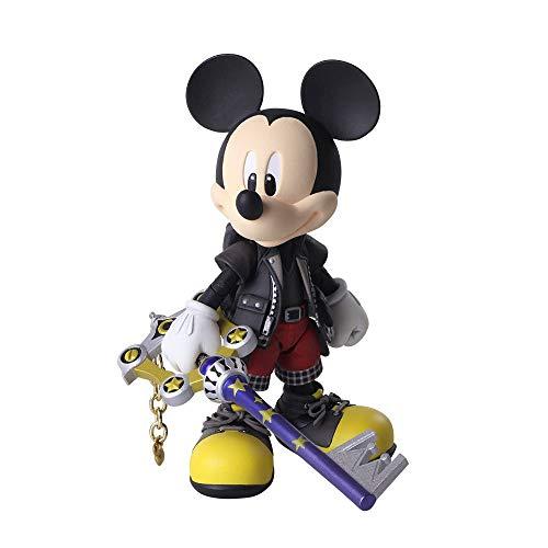 Square-Enix Kingdom Hearts III Bring Arts - Figurine King Mickey 9 cm