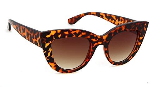 HAOMAO Gafas de Sol de Ojo de Gato Vintage para Mujer, Hombre, diseñador de Marca, Gafas Uv400 C6