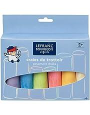 Lefranc Bourgeois - Gessi Assortimento Da 6 Colorati Maxi