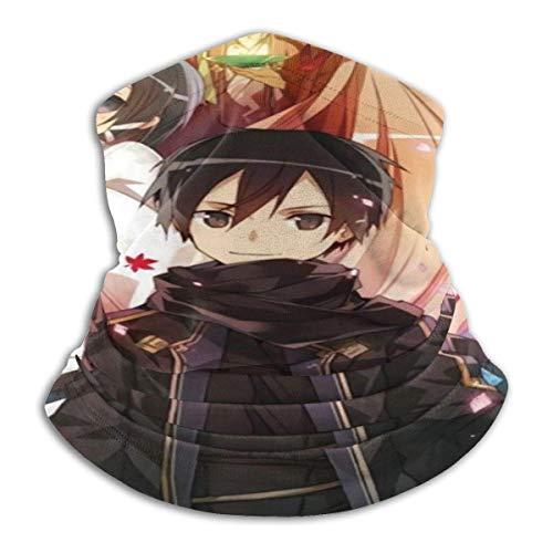 Headband,Sword Art Online - Sombreros 12 En 1, Suaves Bandanas 12 En 1 para Fiestas Y Vacaciones,26x30cm