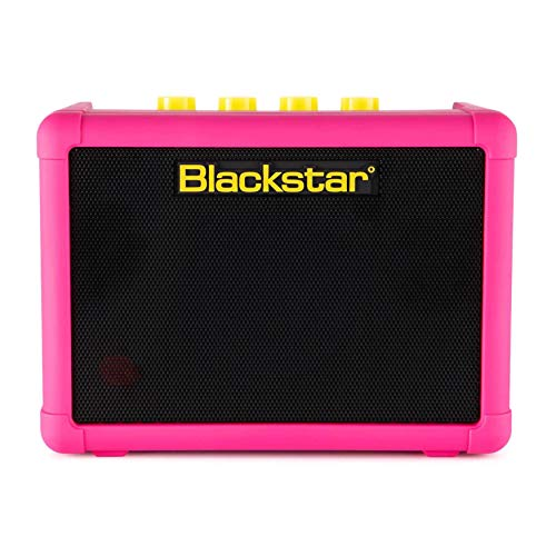 Blackstar FLY3 Neon Pink Compact Portable Battery Powered Guitar Amplifier - Limited...