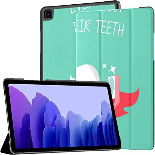 Healthy Cute Tooth Dentist Superhero Tablet Case Galaxy Tab A7 10.4 Pulgadas Samsung Tablets Case Samsung Tablet Case con Auto Wake/Sleep Fit Tablet con Estuche para Galaxy Tab A7 Sm-t500