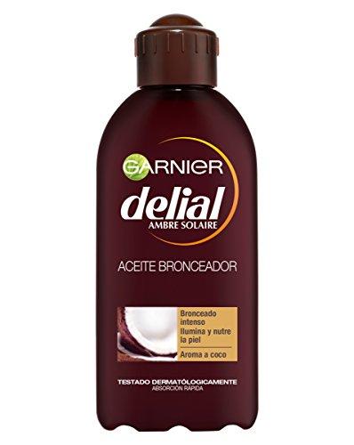 Garnier Delial Aceite Bronceador Intenso Nutritivo...