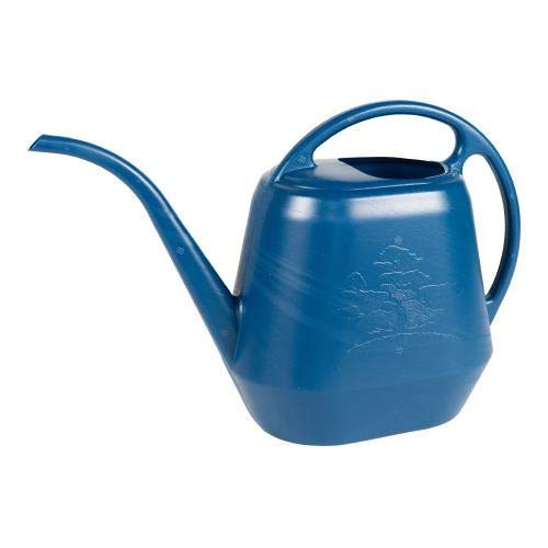 SHOTSLED Watering Can 1.2 Gal. (144 oz), Classic Blue Color Watering can Garden Water can Gallon Watering can Watercan for Plants Plant Watering Pitcher Watering can Gallon