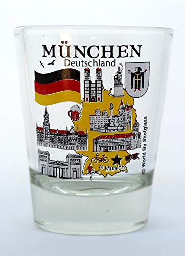 Munich Germany Great German Cities Collection Shot Glass
