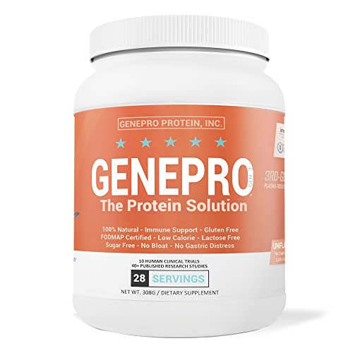 GENEPRO Protein, Premium Protein for Absorption, Muscle Growth and Mix-Ability