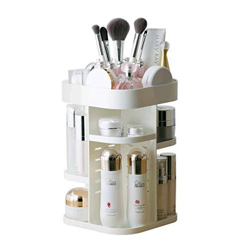 XYZMDJ Organizador de Almacenamiento para cosméticos: organice fácilmente Sus cosméticos, Joyas y Accesorios para el Cabello, encimera o cómoda en el baño, diseño Claro para una fácil Visibili