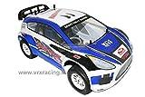 VRX Stradale Flash Rally 1/10 con Motore a Scoppio GO18 con Cambio 1 Marcia N1 con Telaio in Metallo Radio 2.4ghz 4WD RTR