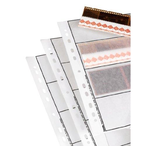 Hama Pergamena Fogli Archivio Negativi, 60 mm, 25 Pezzi, Opaca, Bianco