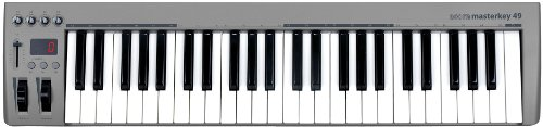 Acorn MIDI Controller Keyboard, 10.24 x 4.33 x 33.86 inches (Masterkey 49)