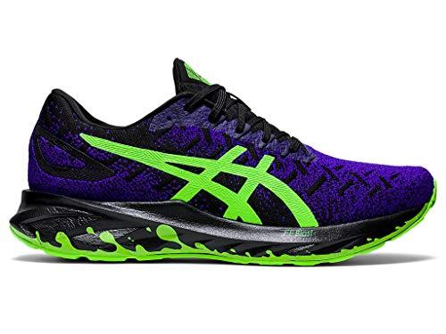 ASICS Dynablast - Zapatillas de correr para hombre, negro (negro, verde (Black/Green Gecko)), 40.5 EU