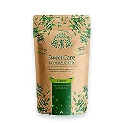 SweetCare Puderzucker, der Zuckerersatz mit Erythritol und Stevia die natürliche Alternative zu Puderzucker