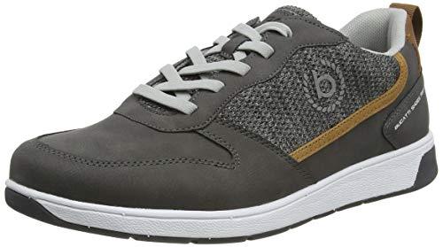 bugatti Herren Arriba Eco Sneaker, Grey, 45 EU
