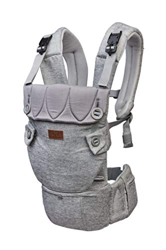 Najell Original Baby Carrier with Hip Seat, Morning Grey