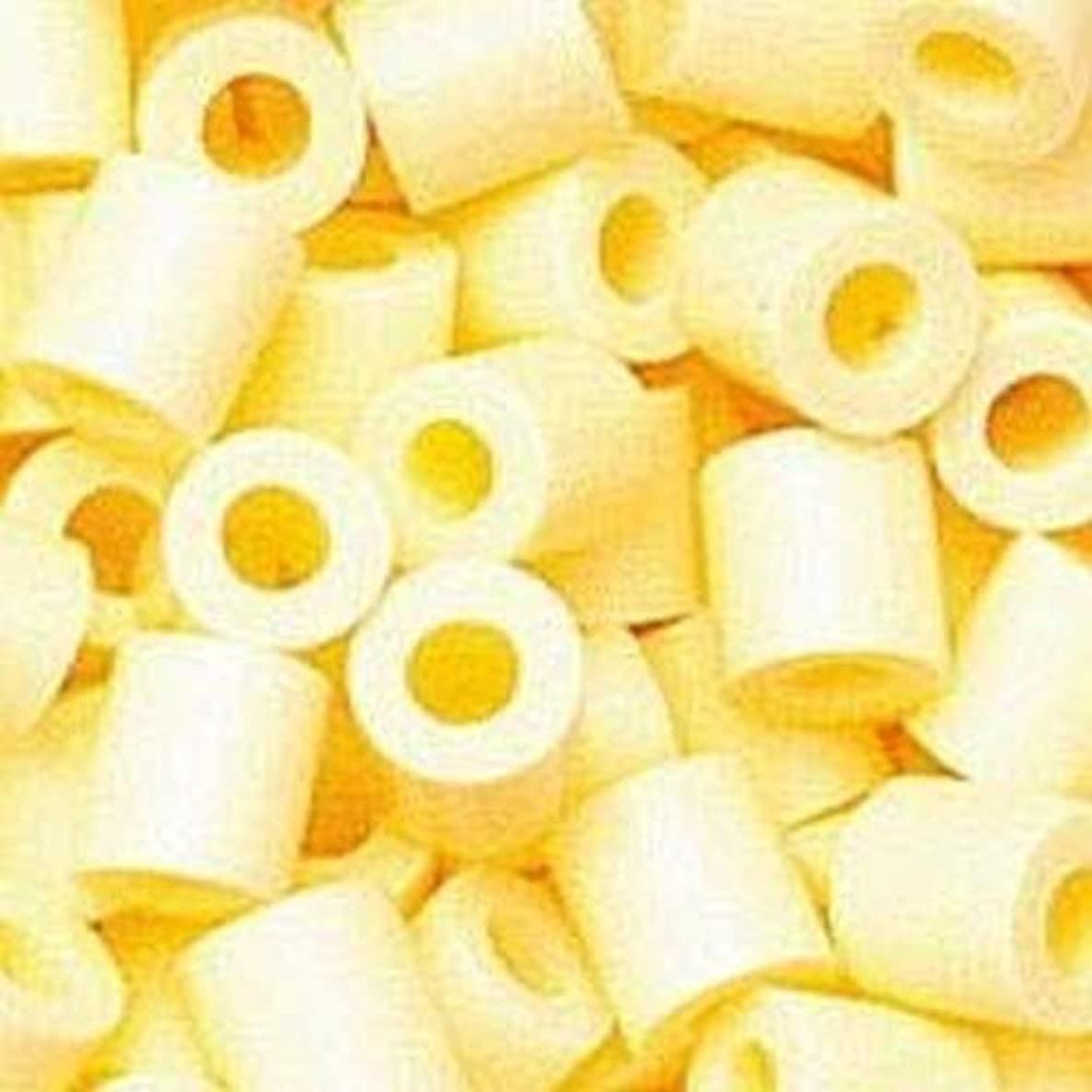 Efco Photo Pearls Beads, Plastic, Number 21 Light Yellow, 5 x 5 mm, 1100-Piece