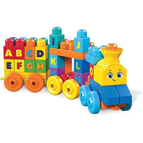 Mega Bloks Tren musical ABC, juguete de construcción para bebé + 1...