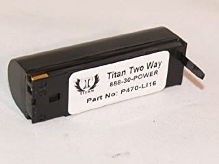 Replacement for Motorola/Symbol P360, P370, P460 and P470 Scanners: Battery