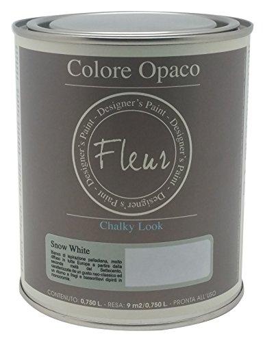 Fleur Paint 13401 - Pintura mineral (base agua, 750 ml) colo