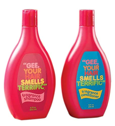 Gee Your Hair Smells Terrific Shampoo And Conditioner Set! Long-Lasting Floral And Spice Scent! Formulated To Deep Clean, Smooth and Detangle All Hair Types! Choose Your Care! (Shampoo & Conditioner)