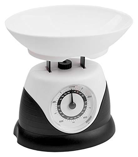 Analoge Mini Küchenwaage grün lila grau schwarz Haushaltswaage Backwaage Waage, Farbe:schwarz