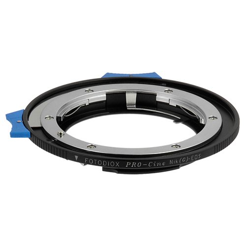 Fotodiox Pro Lens Mount Adapter Compatible with Nikon F-Mount G-Type Lenses on Canon EOS EF/EF-S Cameras
