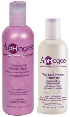 Aphogee Serious Hair Care Double Bundle (Balancing Moisturizer and Twostep Protein Treatment). Maine