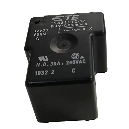 Anfukone T9AS1D12-12 Power Relay SPST-NO 12VDC, 30A, PC Board