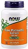 Now Foods Saw Palmetto Extract, 160 mg - 240 cápsulas 240 Unidades 200 g