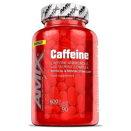 CAFFEINE 600 MG WITH TAURINE 90 CAPS