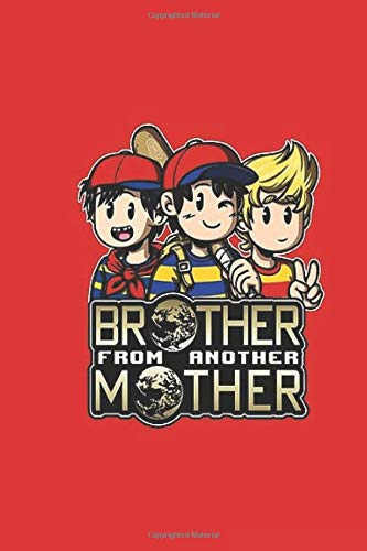 Mother: Ninten & Lucas) Another  Trio (ness Wide Ruled Notebook, Journal for Writing, Size 6' x 9', 110 Pages