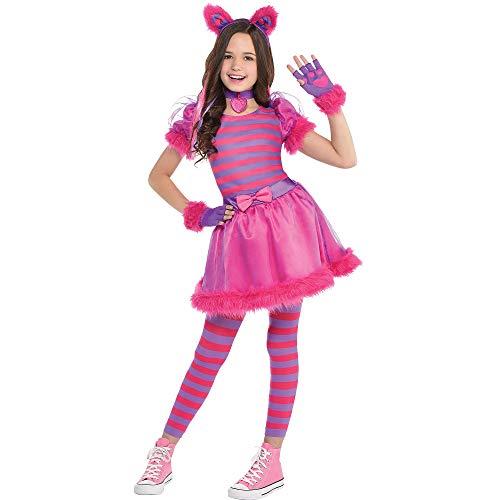 amscan 847245-55 Disfraz de gato Cheshire de 8 a 10 años – 1 unidad