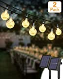 Kolpop Catena Luminosa Esterno [2 Pezzi], 30LED Luce Stringa solari Lucine Led Decorative ...