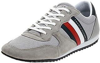 حذاء رياضي ايسينشال مصنوع من قماش شبكي للرجال من تومي هيلفجر