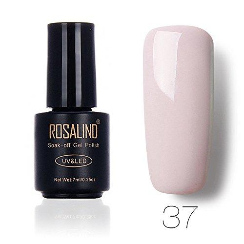 DressLksnf Esmalte de Uñas Elegante Moda para Mujer Esmalte de Uñas Color Sólido Esmalte Permanente Esmalte Endurecedor para Uñas Color Casual