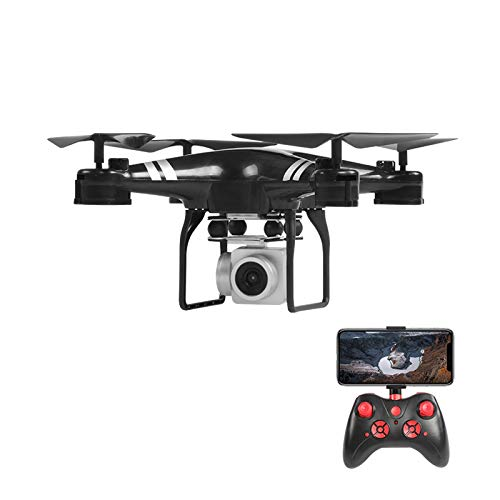 Foldable Mini Drone with 4K HD Camera for Kids Adults, WiFi FPV RC Quadcopter Trajectory Flight 3D Flips, Altitude Hold Headless Mode One Key Return Speed Control Kids Toy Airplane,Black