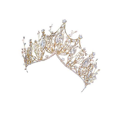 Kronenhaarzubehörlegierungskronenprinzessinkronenbraut-Hochzeitskopfschmuck