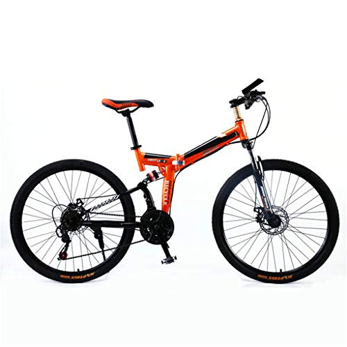 Vouwfiets Volwassenen Mountain Bike Full Suspension vouwfiets,21 speed