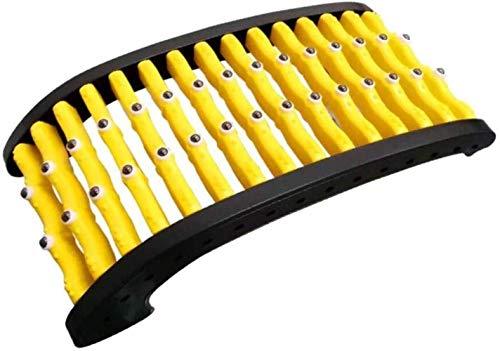 Allamp Corrección Lumbar wquipment, la Espalda arqueada Estiramiento Mate Desmontable Mejora la Postura de tracción Lumbar Camilla