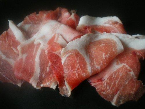 琉球在来黒豚 あぐー豚 ウデ肉 スライス 400g