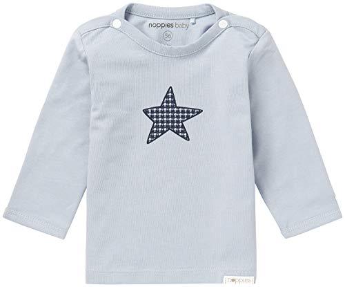 Noppies Baby-Jungen B Tee ls Monsieur Langarmshirt, Grau (Grey Blue C134), 68