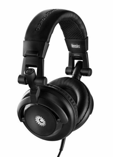 Hercules DJ M40.1 (DJ-Kopfhörer, geschlossen, 50 mm Treiber, faltbar) 1 Schwarz