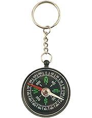 Générique 1900 sleutelhanger kompas, kunststof, zwart, 10 x 1 x 4 cm